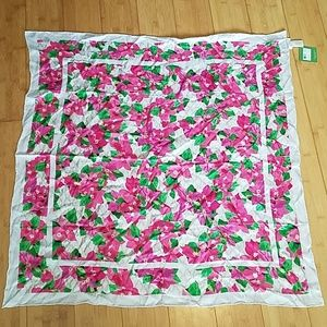 Kate spade square silk scarf